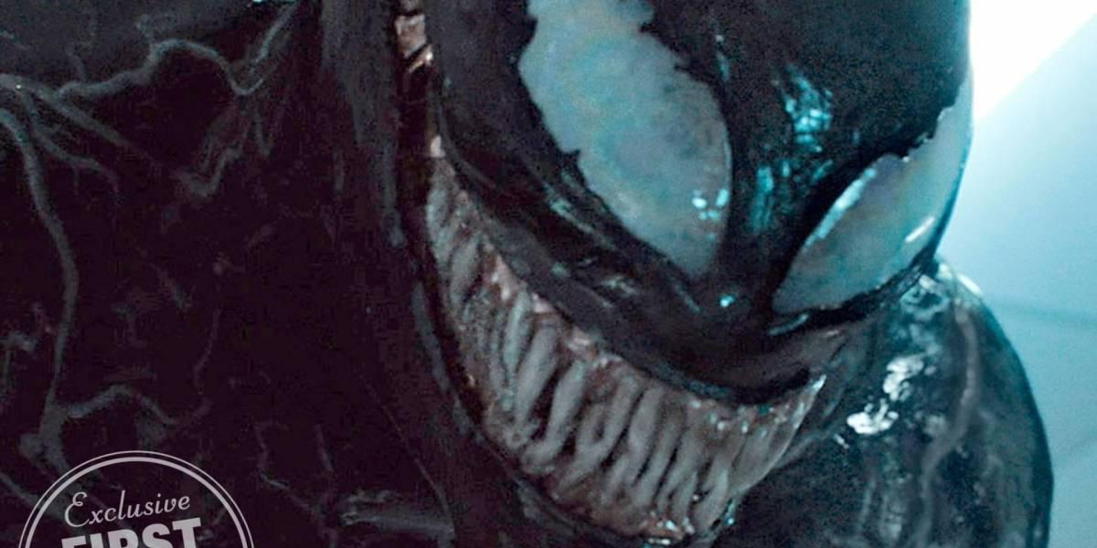 Nuevas imágenes de la película de Venom muestran al simbionte y a Eddie Brock
