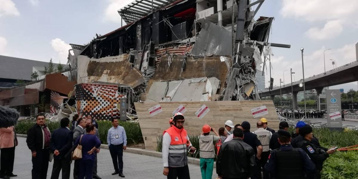 Reforzarán peritaje para conocer causas de derrumbe en plaza comercial