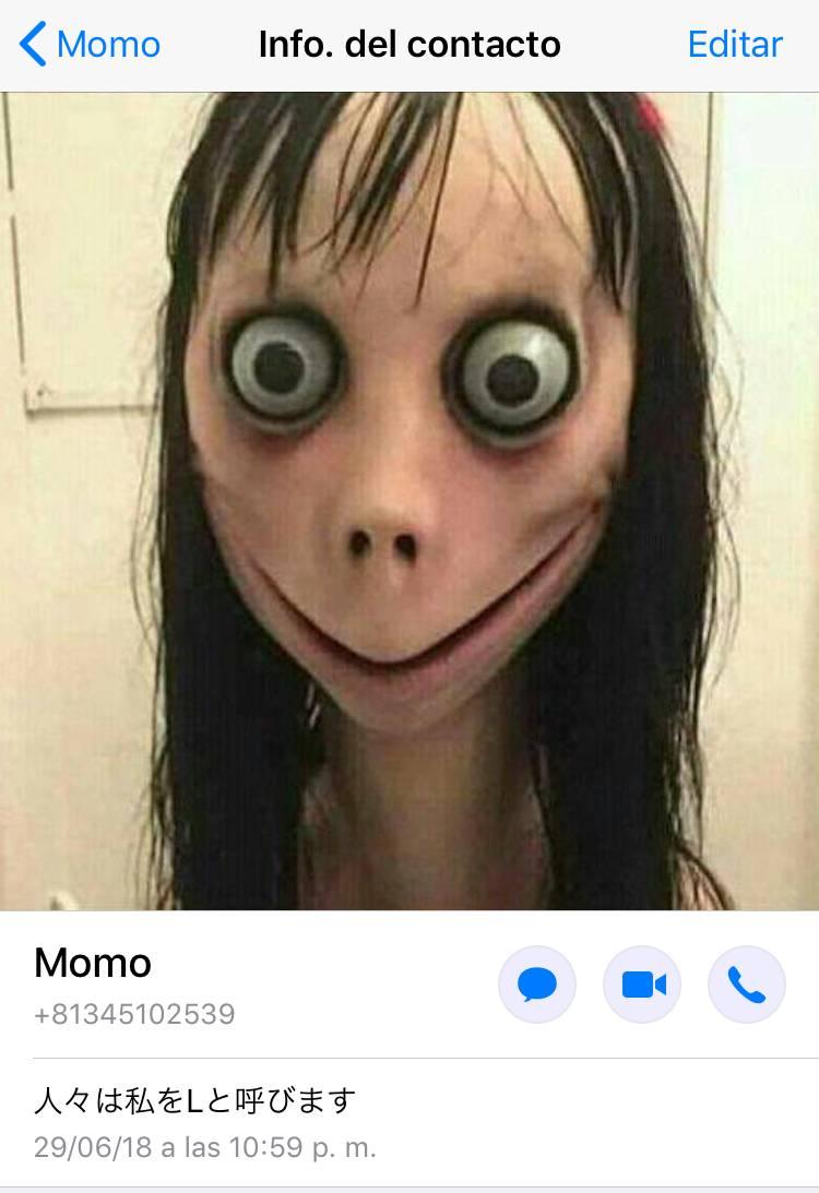 'Momo', el misterioso número telefónico que está aterrorizando internet