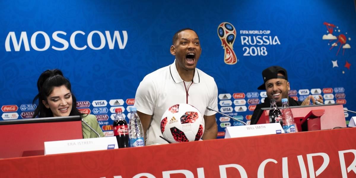 ¿Men in Black? Will Smith compara actuación de Brasil con sus películas