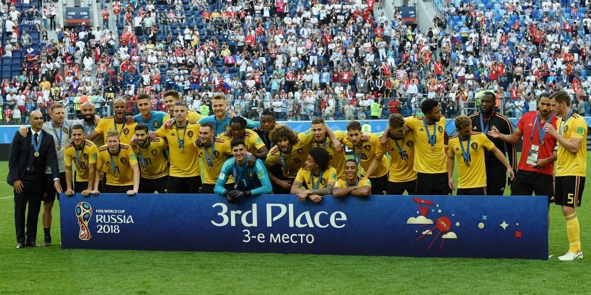 Con sus diabluras, Bélgica consigue un histórico puesto en el podio del Mundial