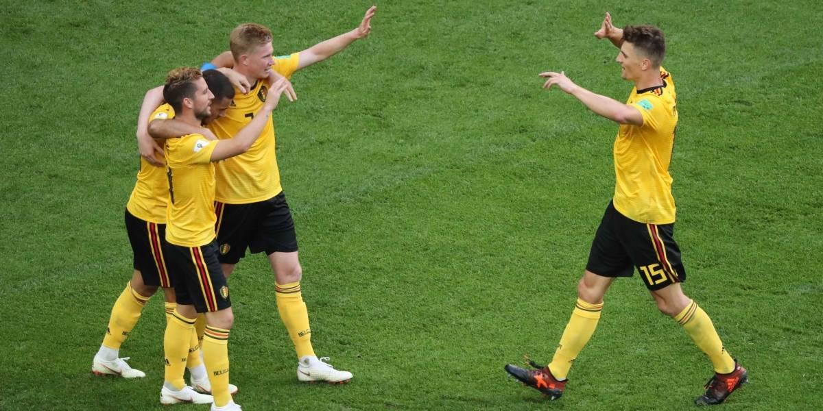 AO VIVO: Hazard aumenta para a Bélgica contra a Inglaterra