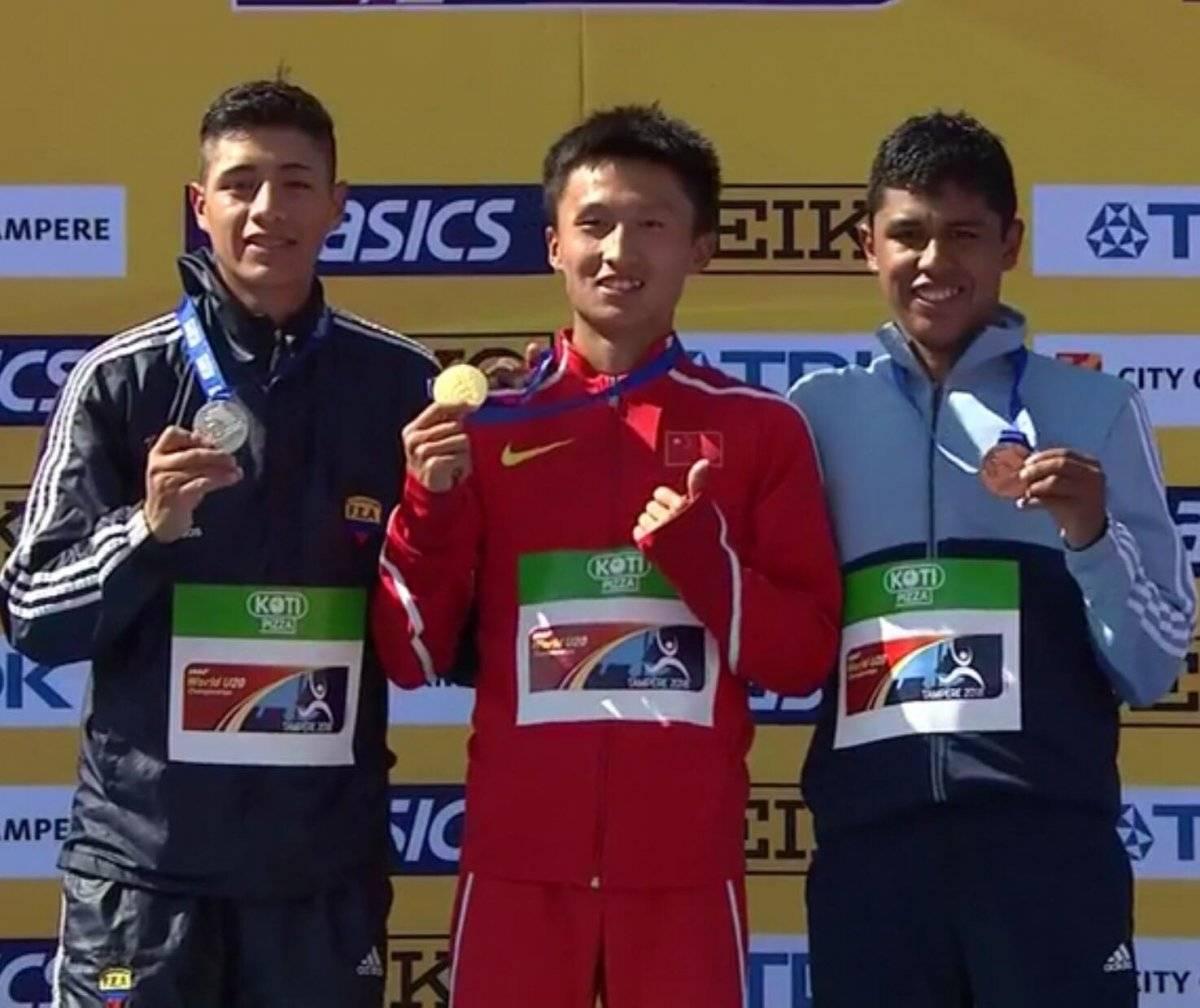 José Ortiz ganó el bronce en el Mundial de Marcha