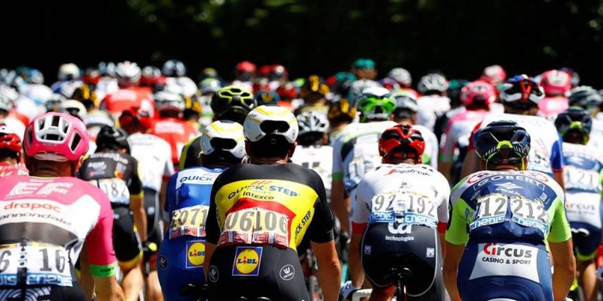 Fernando Gaviria fue tercero en un embalaje muy disputado en el Tour de Francia