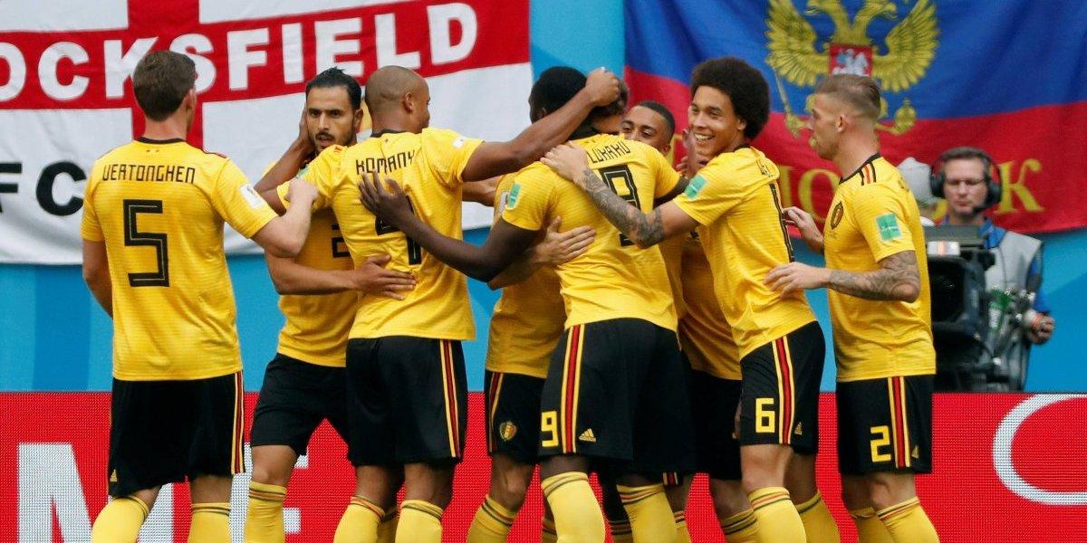 Thomas Meunier hizo el primer gol para el bronce de Bélgica
