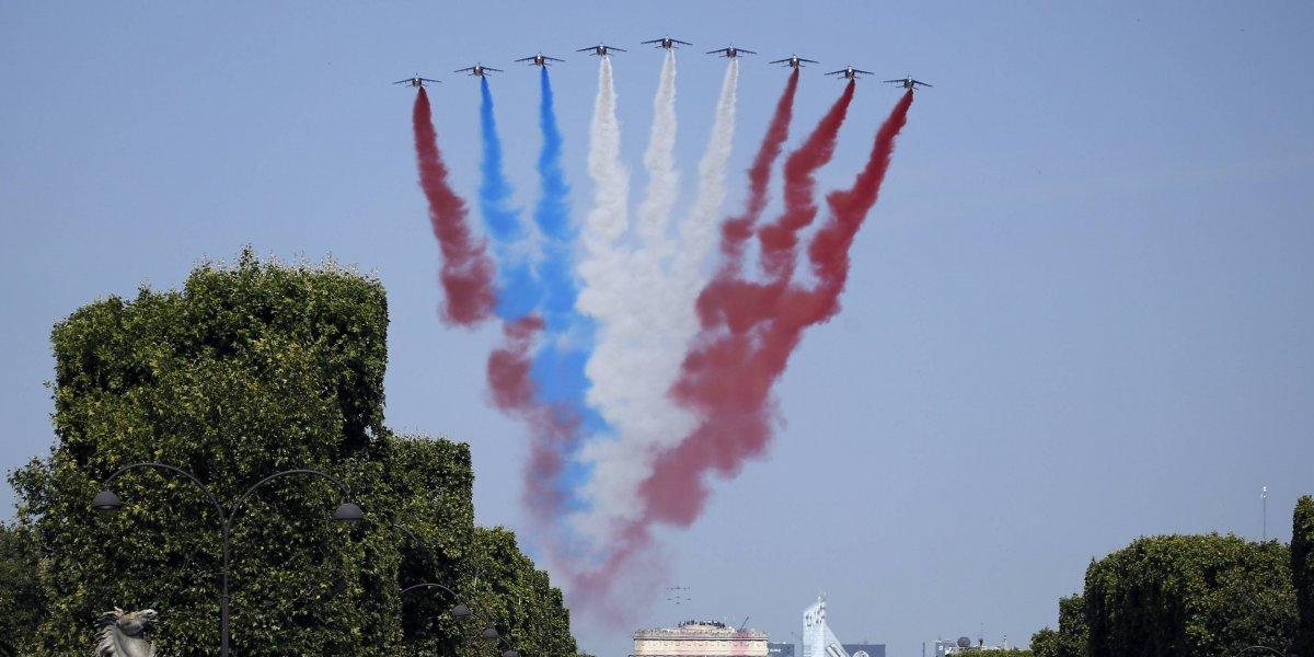 Errores marcan celebración del Día de la Bastilla en Francia