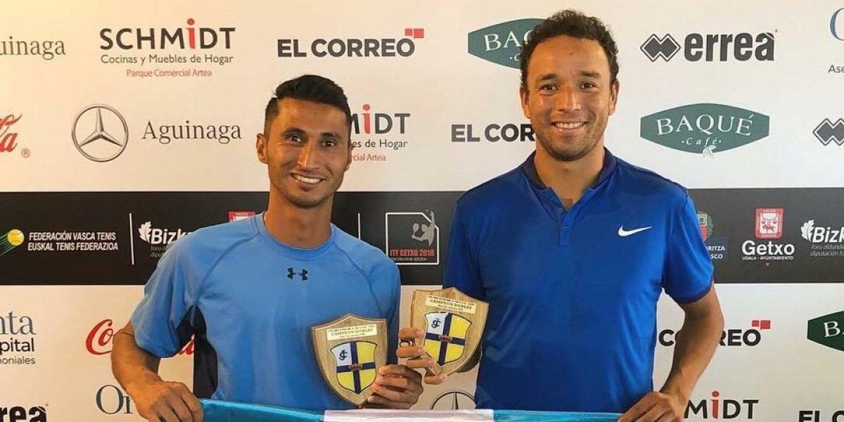 Christopher Díaz y Wilfredo González alzan el título en España
