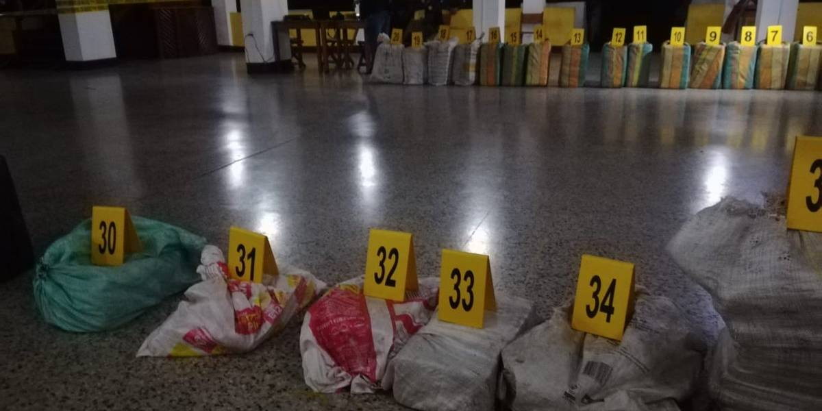 Tres colombianos enfrentarán la justicia guatemalteca por tráfico de drogas