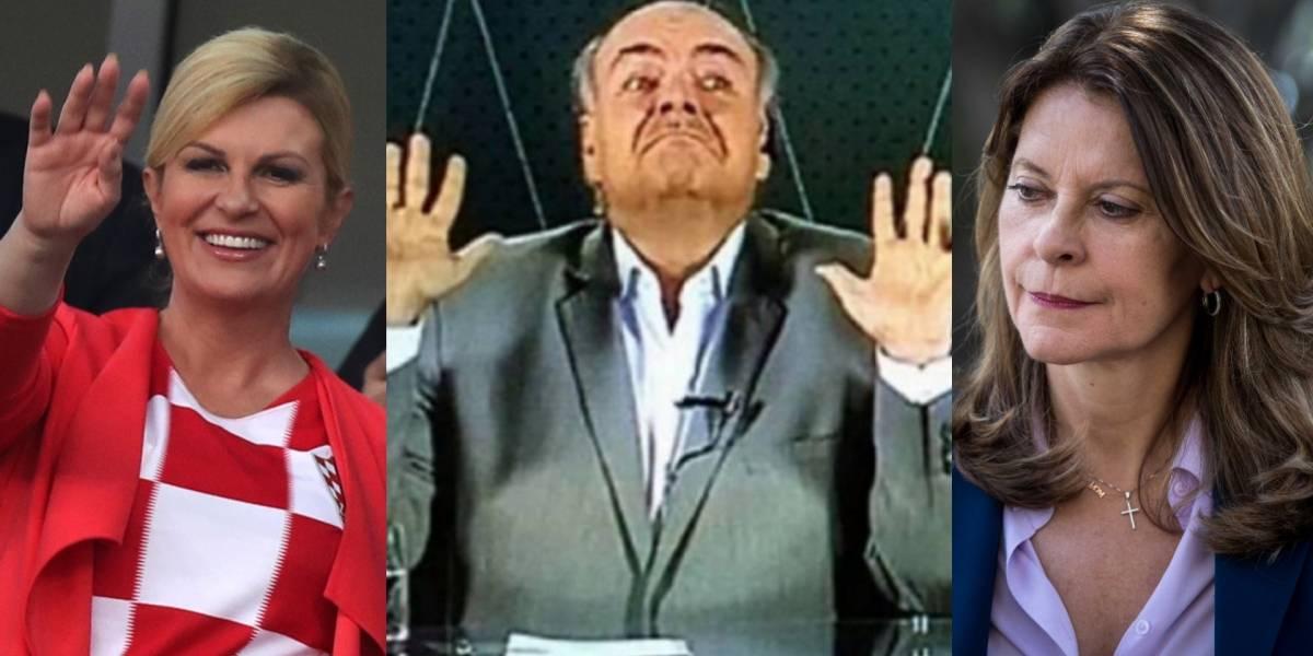 La graciosa comparación de Iván Mejía entre la presidenta de Croacia y Martha Lucía Ramírez
