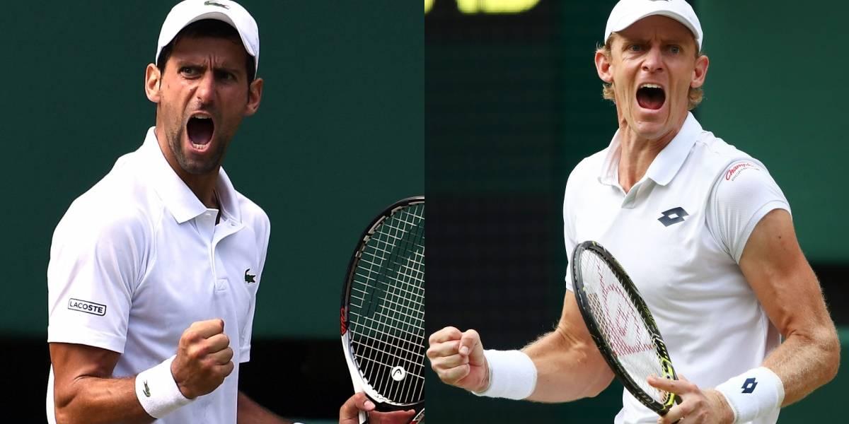 Djokovic quiere regresar a la élite y Anderson va por la heroica