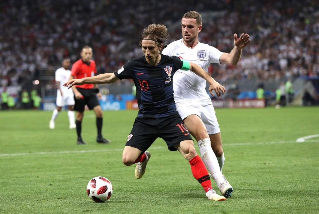 Luka Modric, una de las grandes figuras de Rusia 2018 / Foto: Getty Images