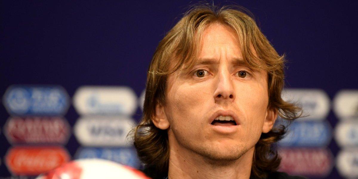 Luka Modric siempre juega para el equipo: prefiere el Mundial que un Balón de Oro