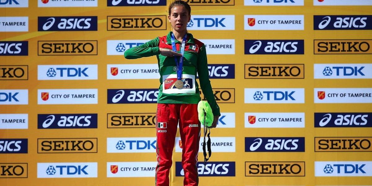 Mexicana Alegna González se corona en Mundial de Atletismo Sub 20