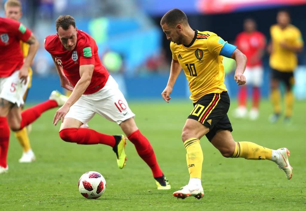 Hazard comandó el triunfo de Bélgica sobre Inglaterra / Foto: Getty Images