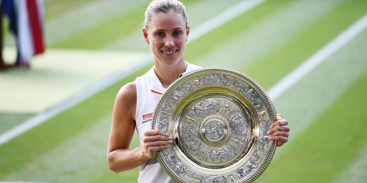 Angelique Kerber se proclama campeona de Wimbledon por primera ocasión