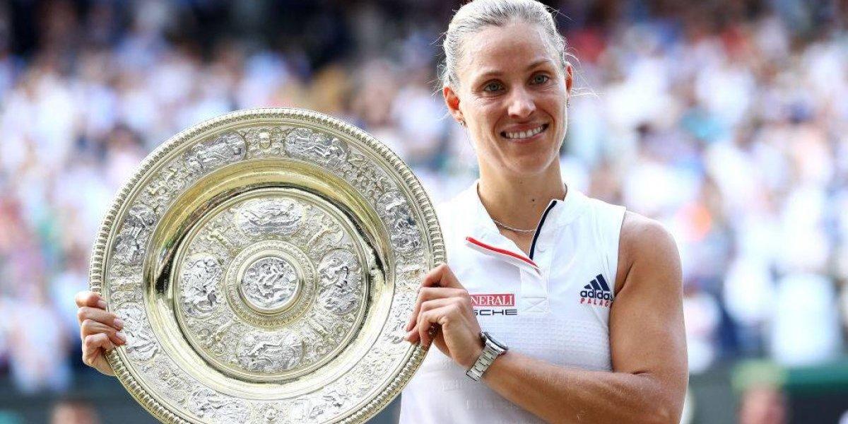 Kerber evitó otro histórico título de Serena Williams y se coronó reina de Wimbledon