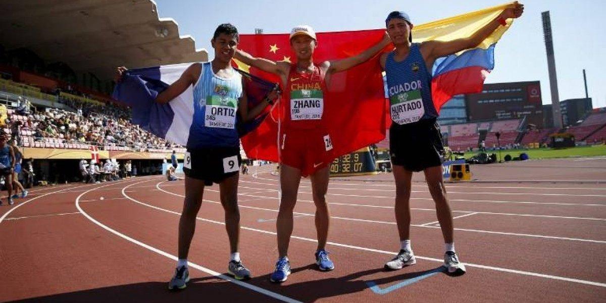 El marchista José Eduardo Ortiz vuelve a darle a Guatemala una medalla en el Mundial