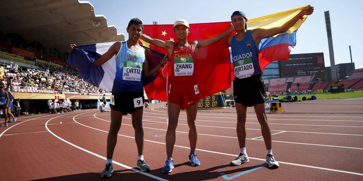 Entrevista. José Ortiz, medallista de bronce en el Mundial de Atletismo habla tras su logro