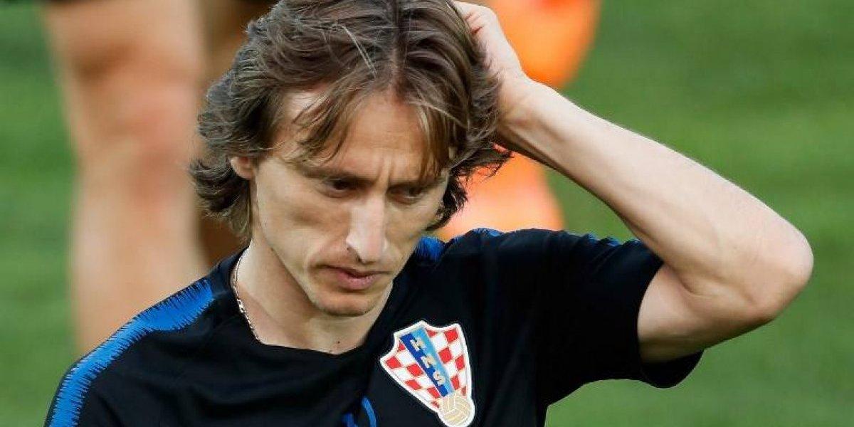 El jugador croata Luka Modric podría ir a la cárcel