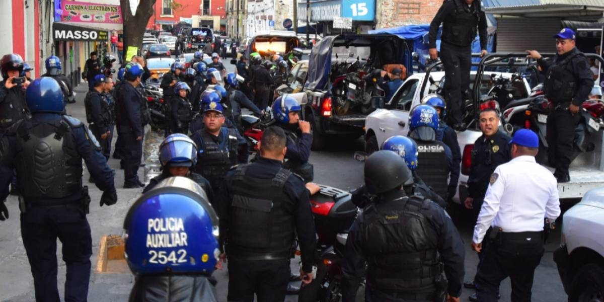 Al día 7 policías son sancionados por abusos en la CDMX