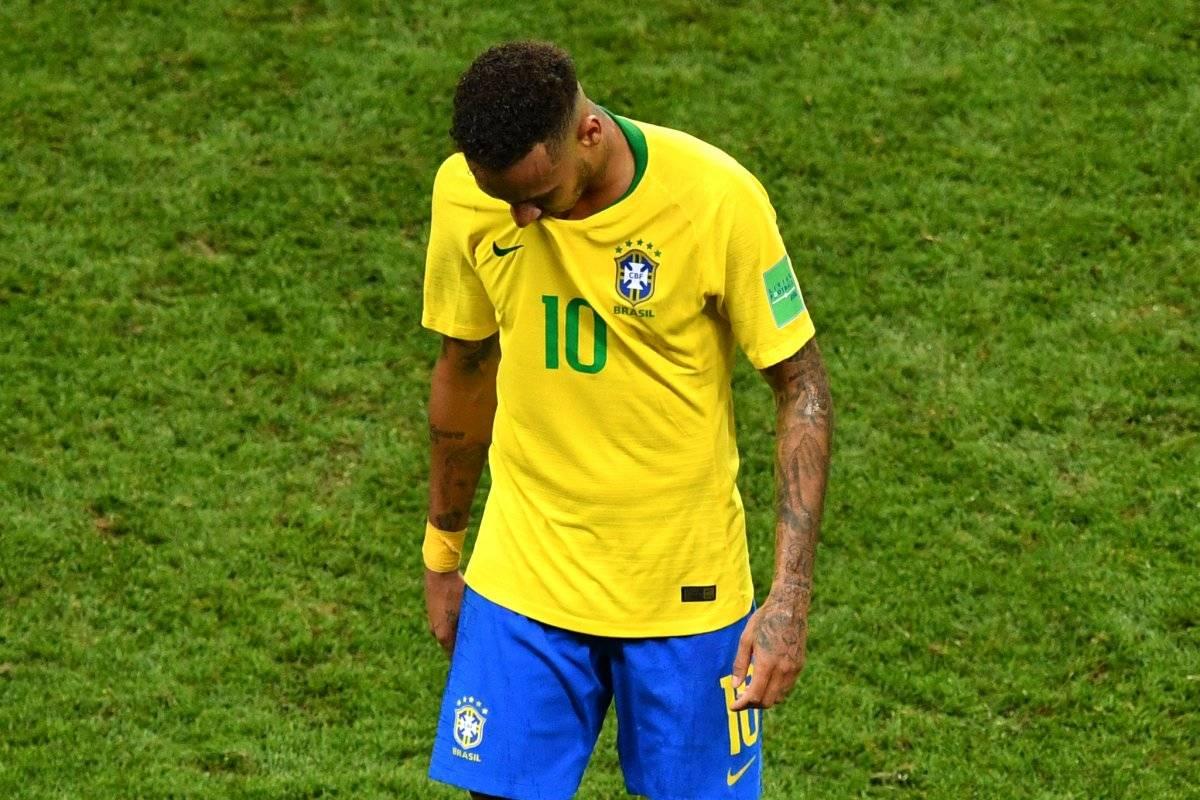 Neymar no brilló en el Mundial de Rusia