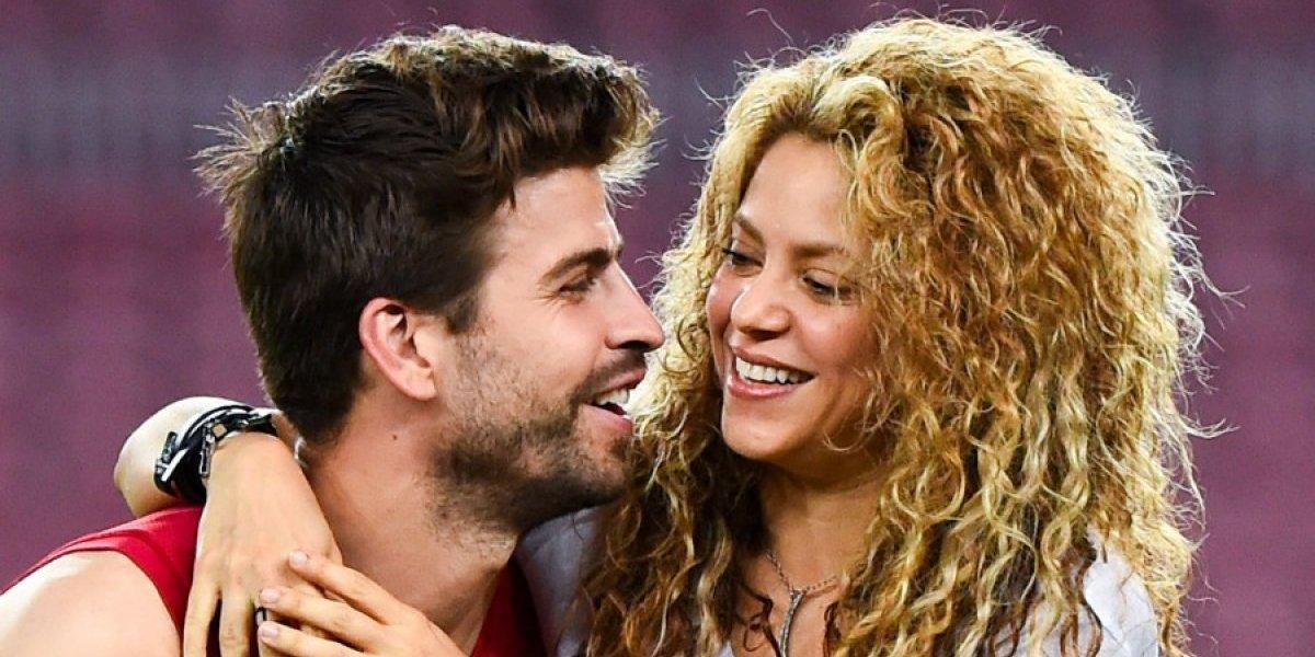 VIDEO. Captan a Piqué manoseando sin pena a Shakira en público