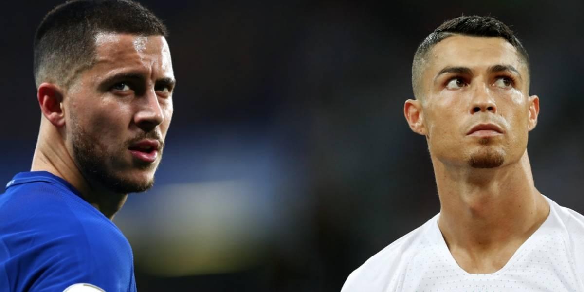 Hazard, el candidato para suplir a Cristiano en el Madrid