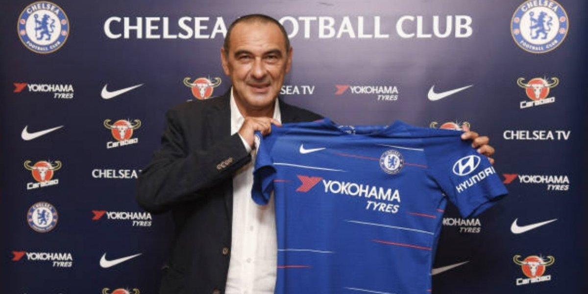 Chelsea presenta a Maurizio Sarri como su nuevo DT