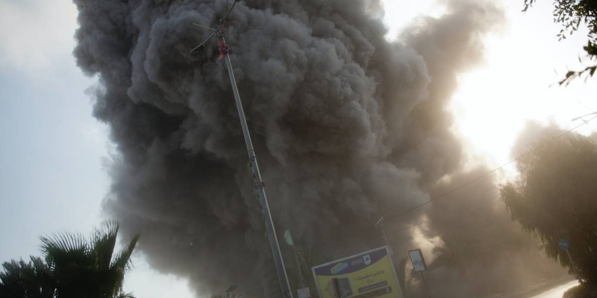 Israel intercambia fuego con Hamas en Gaza