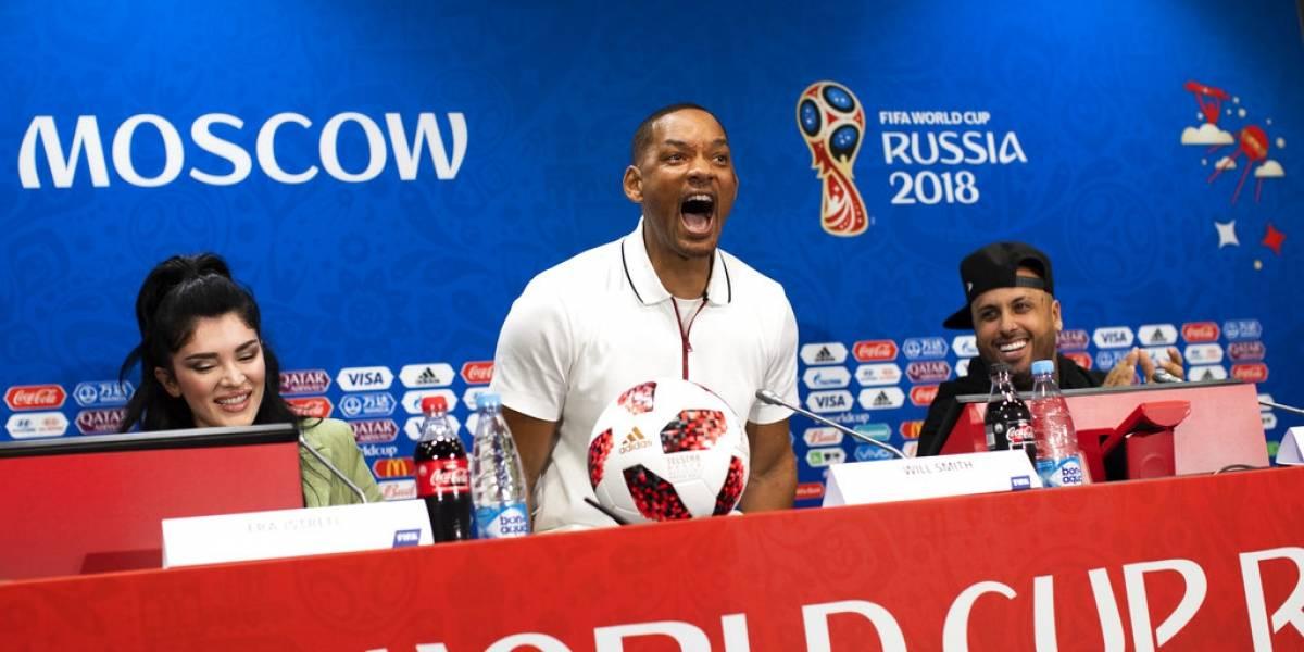 Will Smith defiende a Neymar y reconoce su amor por Cristiano Ronaldo