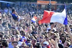Miles y miles de personas vieron la final del Mundial en el país galo