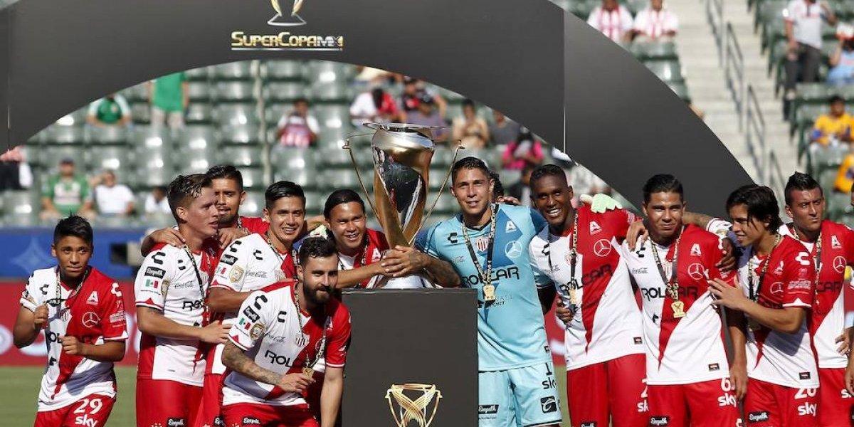 Necaxa se proclama campeón de la Supercopa MX