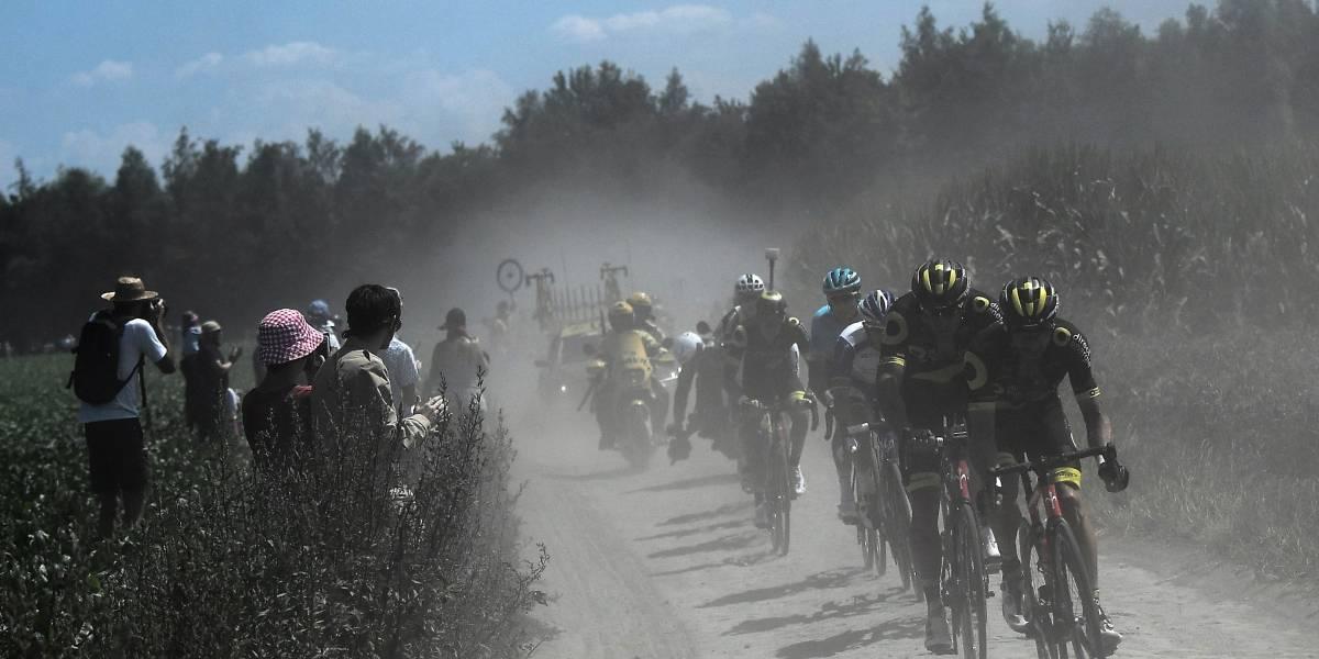 Nairo Quintana subió y Rigo se descolgó del top 10 en el Tour de Francia