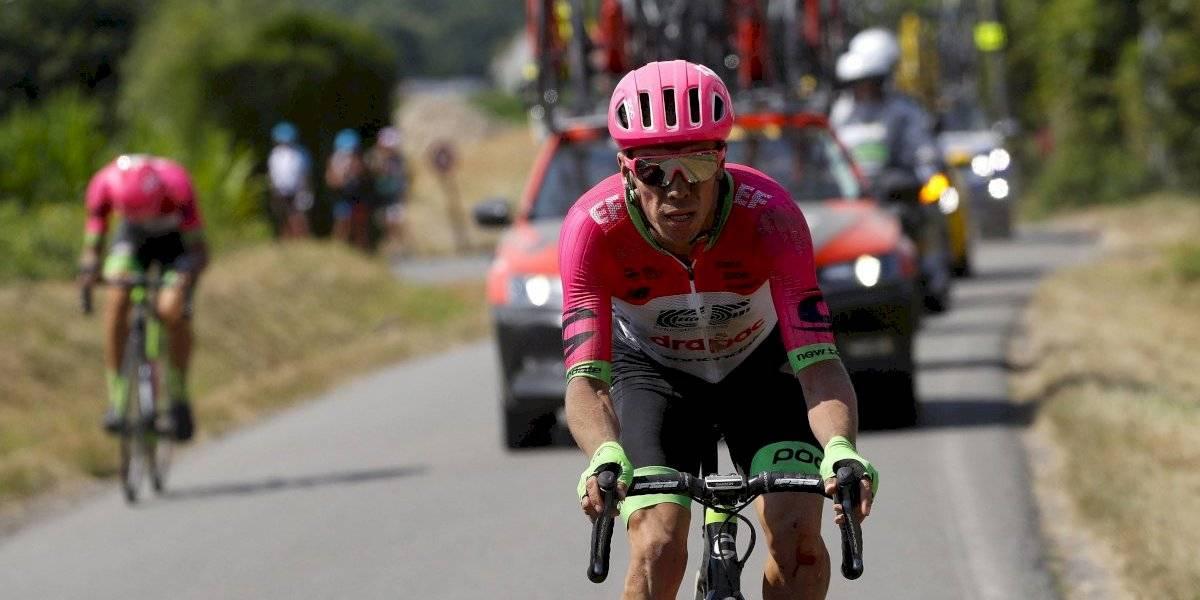 La fuerte discusión de Rigoberto Urán con Vincenzo Nibali cuando suspendieron la etapa
