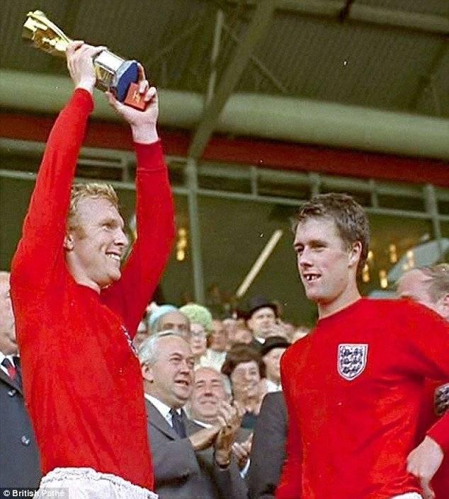 Geoff Hurst marcó un triplete en el Mundial de 1966