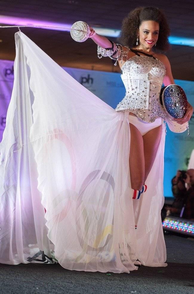Alicia Aylies es Miss Francia 2017. Foto: AFP