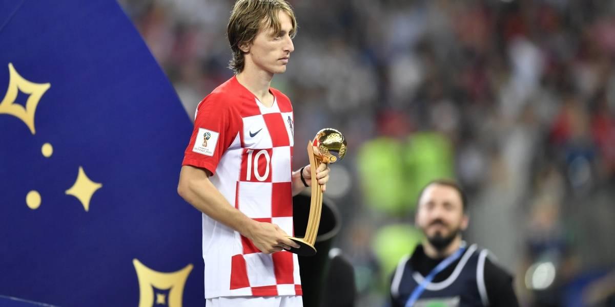 Premio amargo: Luka Modric extendió la maldición del Balón de Oro del Mundial