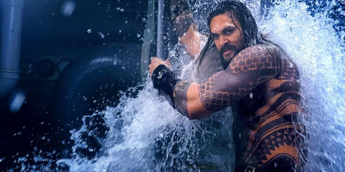Aquaman: Primer vistazo del Fisherman King interpretado por Djimon Hounsou