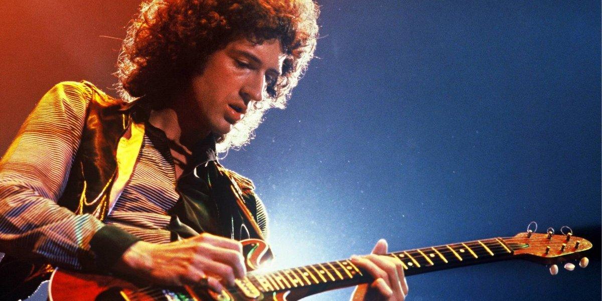 """El increíble parecido entre el guitarrista de Queen y el actor que lo interpretará en la película  """"Bohemian Rhapsody"""""""