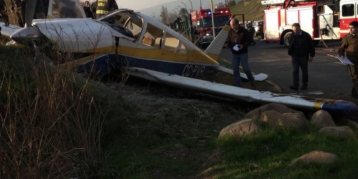 Caída avioneta en Peñalolén: víctimas siguen en riesgo vital y alcaldesa insiste en trasladar el aeródromo Tobalaba