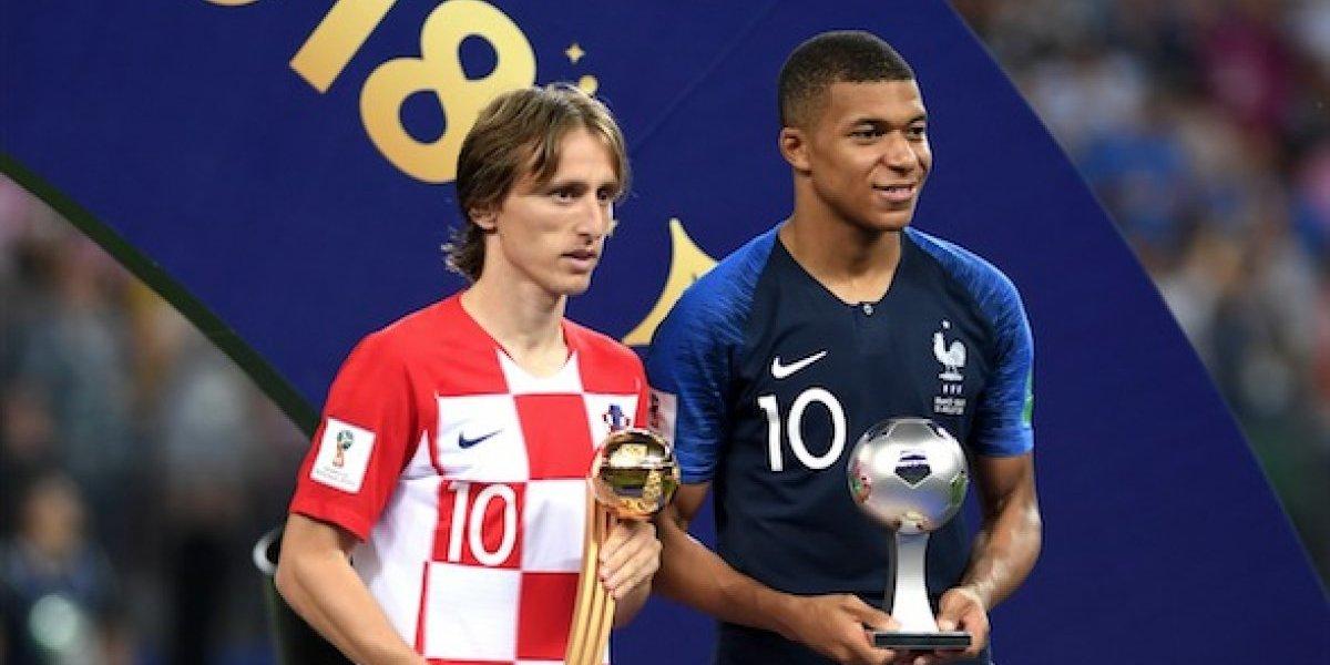 El impresionante aplauso del estadio a Luka Modric, Balón de Oro del Mundial