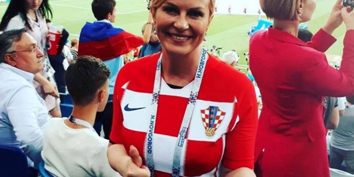 La presidenta de Croacia se lleva la final del Mundial gracias a su carisma