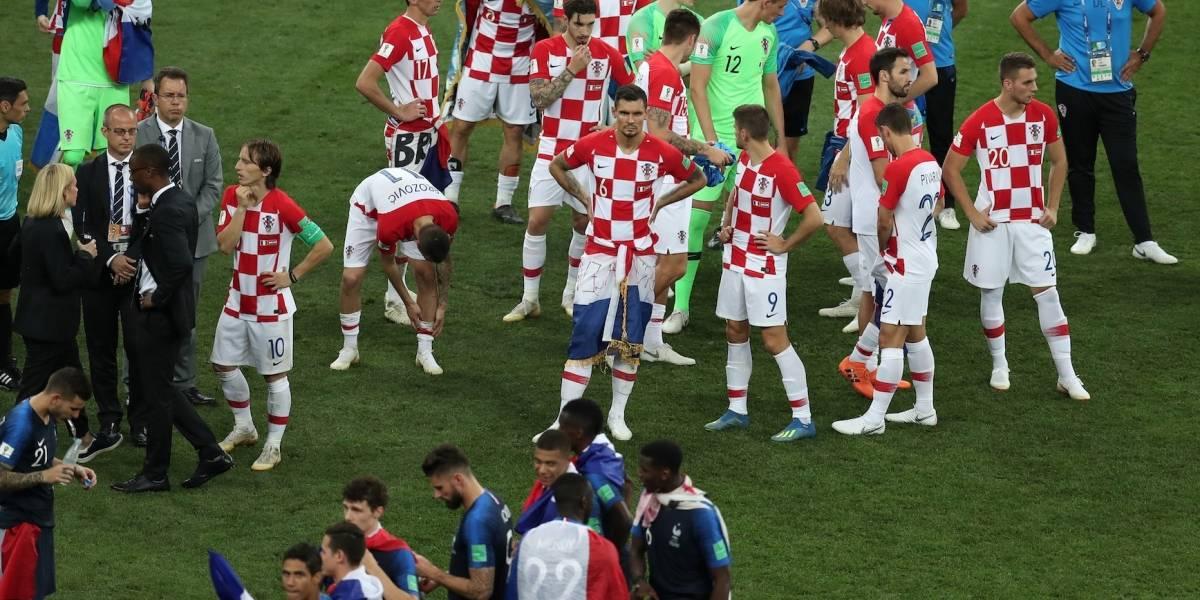 El hermoso gesto de la Selección de Francia con Croacia en la final del Mundial Rusia 2018