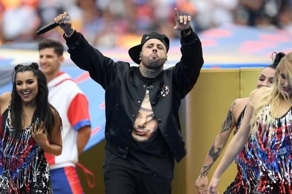 Críticas por presentación de Nicky Jam en final del Mundial