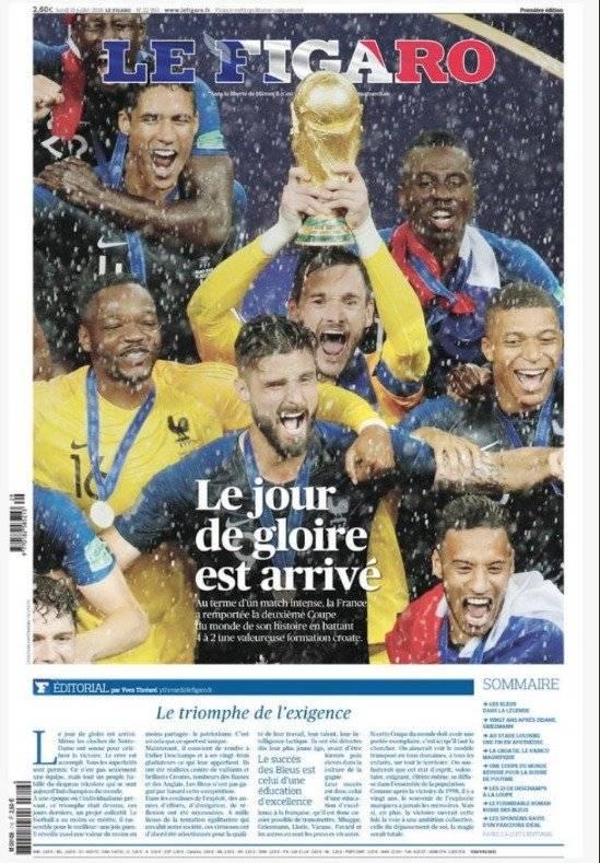 Las portadas de Francia