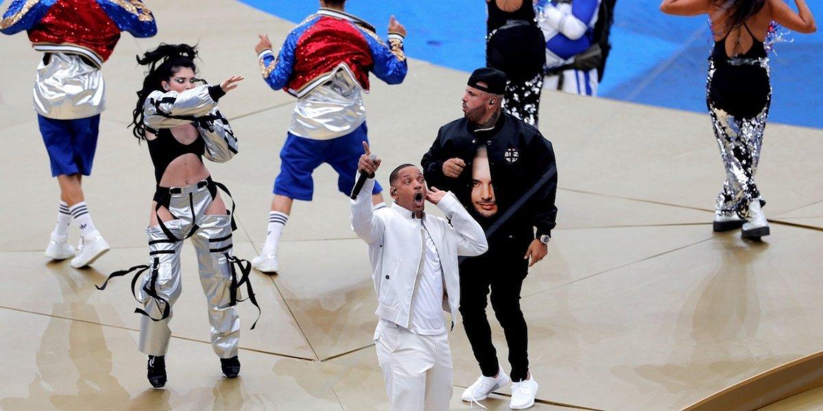 El homenaje de Nicky Jam a J Balvin en la final del Mundial, que muy pocos observaron