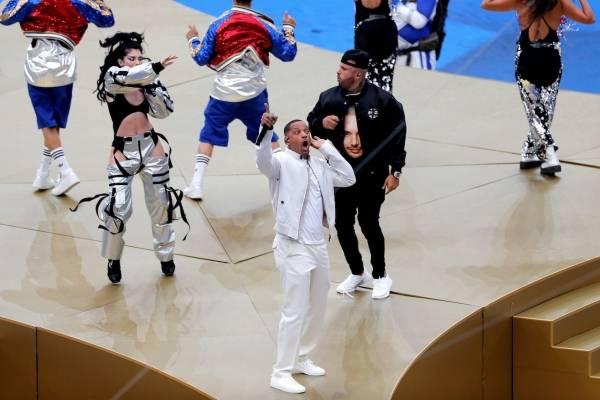 Presentación de Nicky Jam en final del Mundial Rusia 2018