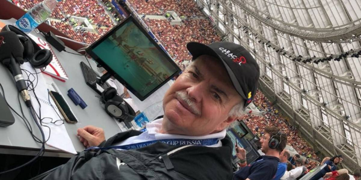 La emotiva despedida de Iván Mejía de las transmisiones de fútbol