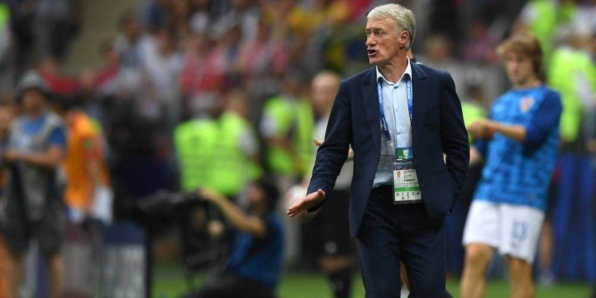 Didier Deschamps, tercero en ganar la Copa del Mundo como jugador y entrenador