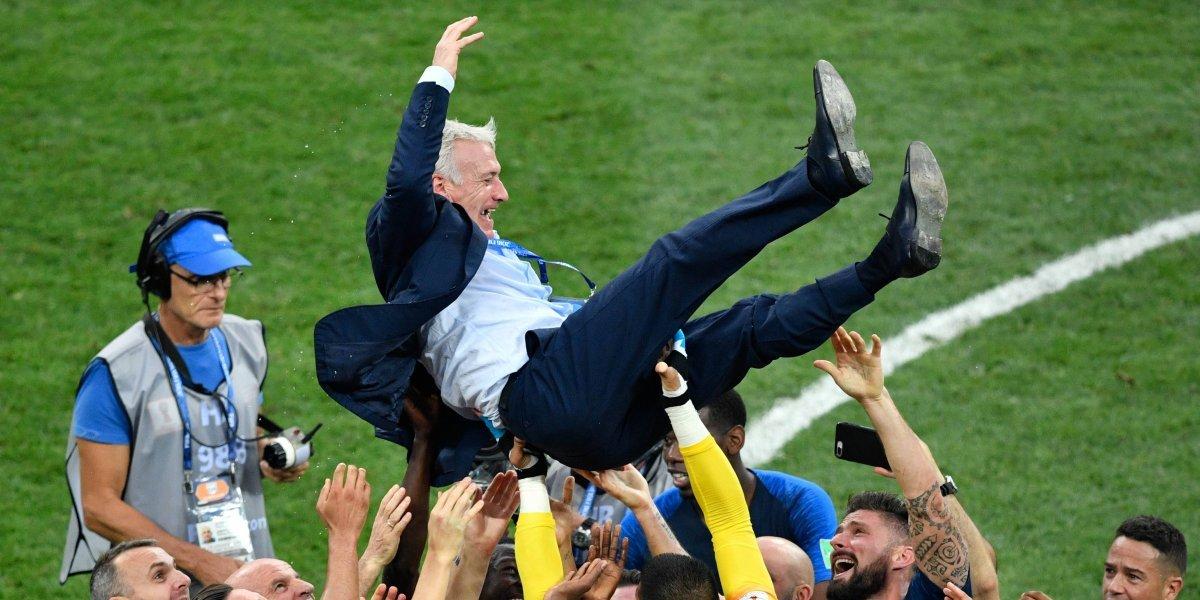 Deschamps iguala a dos leyendas del futbol mundial con el título obtenido en Rusia